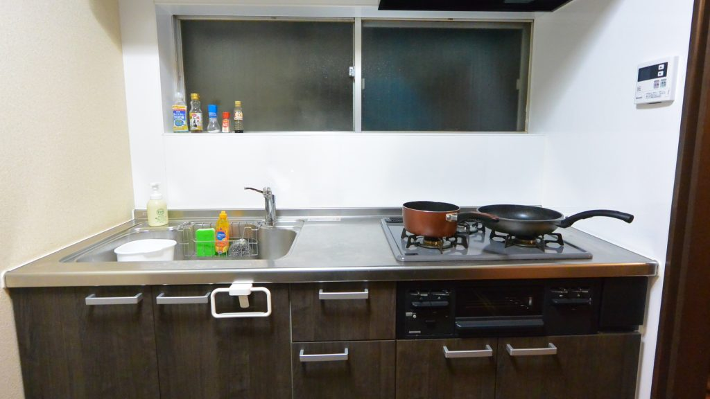 Guesthouse Kitchen 民泊 台所