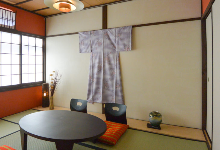 Kyoto Guesthouse room 京都 民泊 和室