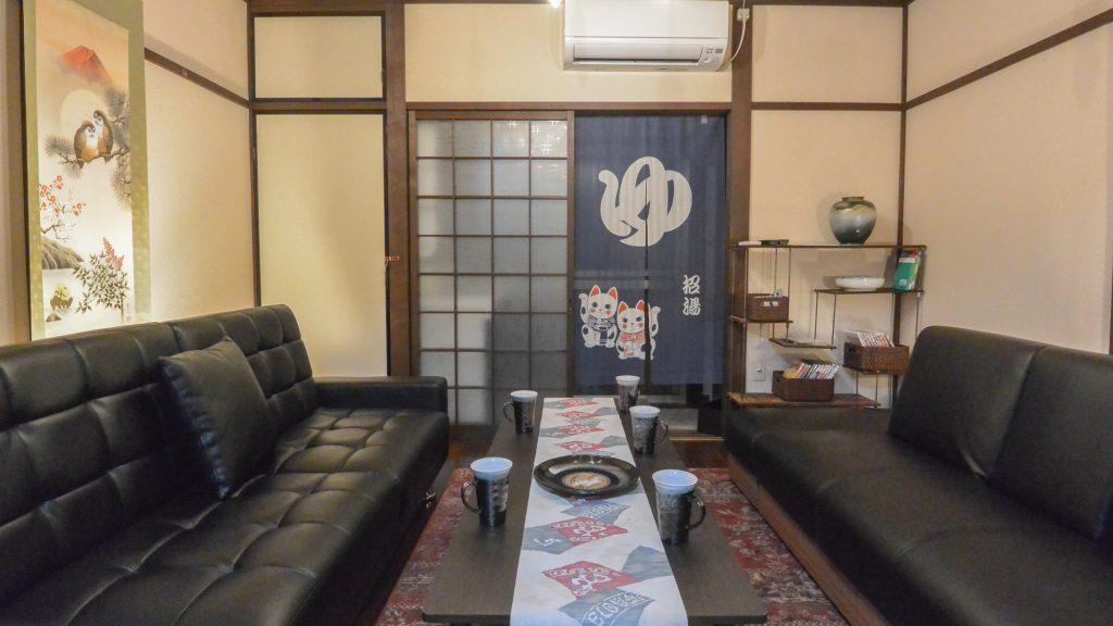 Guesthouse living room 民泊 リビング
